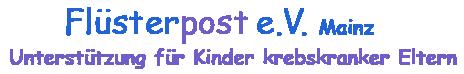 Flüsterpost e.V. – Unterstützung für Kinder krebskranker Eltern